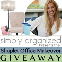 Office space starting to look a little drab? That means it's time for a major #Makeover! We're collaborating with Simply Organized to bring you this awesome #giveaway! http://blog.shoplet.com/office-supplies/simply-organizeds-shoplet-office-makeover-giveaway/