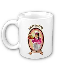 Patron saint of Waitresses diner style mug.