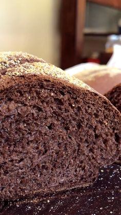 Pan Integral con Cacao y Miel - Brot backen Oven Recipes, Easy Cake Recipes, Bread Recipes, Pan Bread, Bread Cake, Sweet Pastries, Bread And Pastries, Pan Integral Thermomix, Best Vegan Chocolate