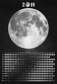 Simple Moon Calendar for my Grimoire