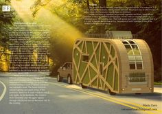 ENERGY-EFFICIENT MOBILE HOUSE Architectural Competition 'MICROTOPOA' 2016