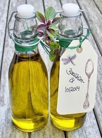 Seifenliebe...rostet nicht ♥: Basilikumöl ganz einfach selber machen