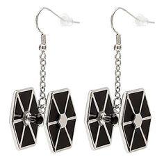 TIE Fighter Earrings - $24 ⋆ Star Wars Gifts!