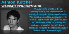 #ashtonkutcher for more #news and #insights for #smallbusiness #startups and #entrepreneurs come visit us @ www.entrehub.org - its free to subscribe! remember to #like and #share our posts with your friends and networks!