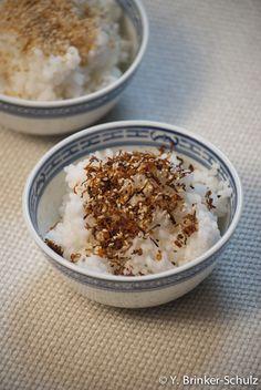Selbstgemachtes Furikake für die Bento-Box #1: Sesam-Salz-Furikake