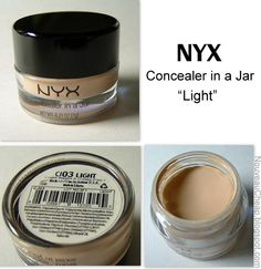 Nouveau Cheap: NYX Concealer in a Jar: is it really a good MAC dupe? ALSO MAYBELLINE SUPERSTAY for undereye concealer