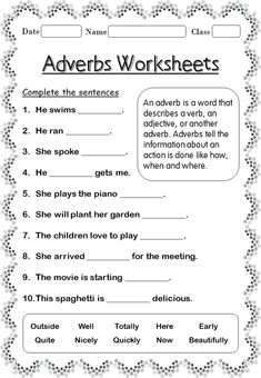 29 Printable Adverb Worksheets Printable Adverb worksheets for Grade The kids can enjoy Number Worksheets, Math Worksheets, Alphabet Worksheets, Colo. English Grammar For Kids, Teaching English Grammar, English Grammar Worksheets, English Writing Skills, Grammar Lessons, Learn English Words, Writing Lessons, English Grammar Exercises, French Worksheets
