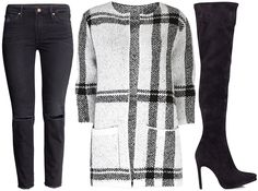 ANNAWII ♥ - HOW TO MATCH THE CHECKERED COAT 3cf72fa7da5c2