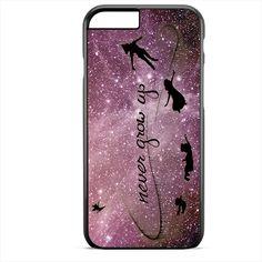 Peter Pan Quote Disney Purple TATUM-8565 Apple Phonecase Cover For Iphone SE Case