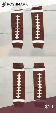 Baby Football Leg Warmers Baby Football Leg Warmers.  One size fits most babies up to 2 years old. Accessories Socks & Tights