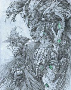 The elf shaman by Anwaraidd on DeviantArt
