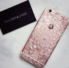 Imagen de iphone, case, and pink