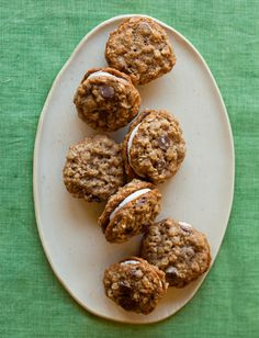 Oatmeal Chocolate Chip Sandwich Cookie – Spoon Fork Bacon