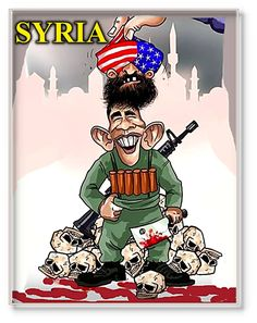 Whatsupic - Translation of Ties Between US and Al Qaeda in Syria into the Language of Art Al Qaeda, Bowser, Presidents, Mickey Mouse, Disney Characters, Fictional Characters, Cartoons, Mirror Mirror, Obama