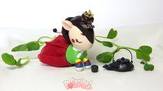 Unicorno Korean Bridal Hanbok 한국 작은 한복 유니콘 장난감 Custom Toy by Dollightful