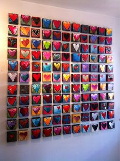 How cute would this be for a teacher to have each child they teach make one and put up on a wall...