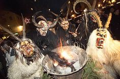 Austrian Cristmas and Advent customs: tradition at the White Horse Inn Advent, December Holidays, White Horses, Central Europe, Winter Wonderland, Austria, Christmas Holidays, Traditional, Halloween