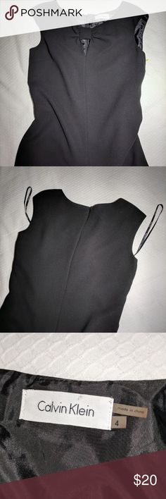 Calvin Klein knee-length dress Classy black dress that hits right just above the knees New without tag Calvin Klein Dresses