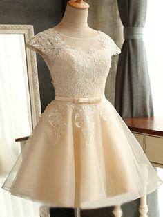 short homecoming dress, cute homecoming dress,simple lace homecoming dress,pretty homecoming dress,junior custom homecoming dress,Short Cocktail Gown