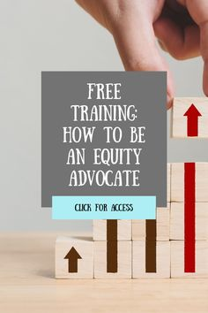 Being an advocate for equity is not a one time or some time pronouncement. It will take dedication, deep reflection, and tough conversations. This guide will help you get started by outlining several commitments you can make NOW to position yourself as an equity advocate. Click to access in the blog! Leadership Coaching, Educational Leadership, Science Education, Social Science, Gender Equity, Free Training, Free Stuff, Curriculum, Reflection