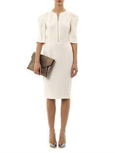 Stella McCartney Calandra snake-jacquard dress (174614) $1,68