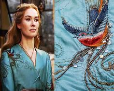 Michele Carragher is a costumer who designs for Game of Thrones. click through to visit her blog - many great closeups of her work.