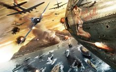 Stream Battlestations Pacific Soundtrack Main Theme by Stellaris from desktop or your mobile device Air Force Wallpaper, Airplane Art, Main Theme, Nose Art, Fighter Aircraft, Pearl Harbor, Aviation Art, Military Art, Battleship