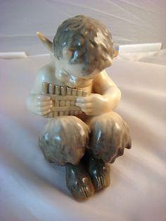 Royal Copenhagen Figurine Faun Playing Syrinx #1736