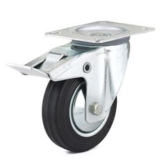 Richelieu F24 Industrial Euro Series Rubber Swivel Caster