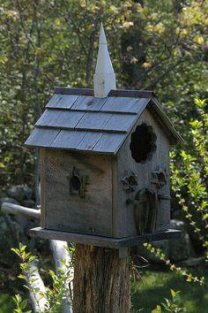 Nice birdhouse!