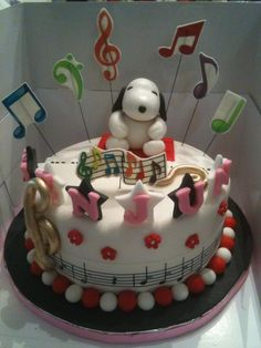 For the music and Snoopy lovers.