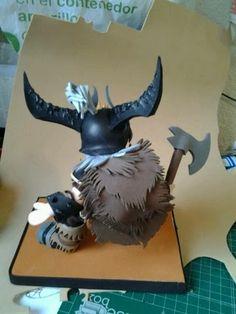 Friki Fofuchas guerrero diablo 3