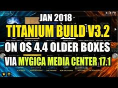 Titanium build V3.2 On Android OS 4.4 Via MMC 17.1 AKA MyGica Media Center 17.1 - YouTube Kodi Live Tv, Kodi Android, The Shape Of Water, Blade Runner 2049, Media Center, Building, Coloring, Youtube, Construction