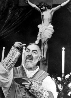 """... it is easier for the earth to exist without the sun than without the Holy Sacrifice of the Mass."" (st. padre pio ~ feast day sept. 23)"