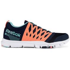 89792085cd6 Reebok Women s YourFlex Trainette RS 5.0L Shoe ( 47) ❤ liked on Polyvore  featuring shoes