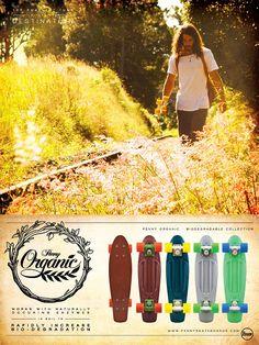 Penny crea el primer skate biodegradable