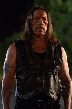 Danny Trejo for the hero or villain. He's the Mexican version of Charles Bronson. He was considered for the first and third expendables.