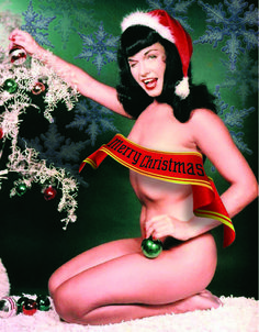 Merry Christmas Betty Page | Flickr - Photo Sharing!