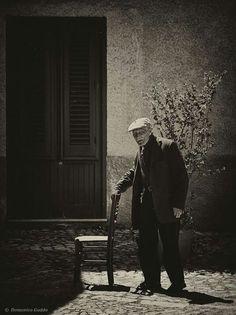 Old man in Sicily