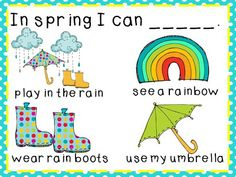 Spring Writing Packet - Kindergarten At Heart
