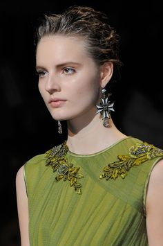 details of Alberta Ferretti at Milan Fashion Week Fall 2013