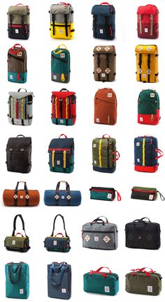 Beautiful bags by Topo. | Raddest Men's Fashion Looks On The Internet…