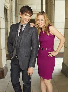 """Christopher Gorham as Auggie Anderson, Piper Perabo as Annie Walker in """"Covert Affairs."""""""