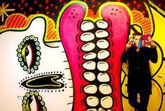 Sweet Toof Graffiti Art, Brick Lane, Off The Wall, Banksy, Weekend Is Over, Street Art, Gallery, Sweet, Artist
