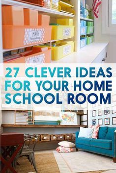 27 Ridiculously Cool Homeschool Rooms That Will Inspire You