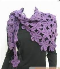 Resultado de imagen para bufandas tejidas a crochet para mujer