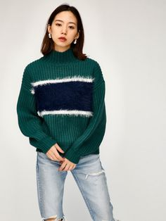 BLOCKING LINE セーター|シェルター公式通販サイト|SHEL'TTER WEB STORE【MOUSSY】