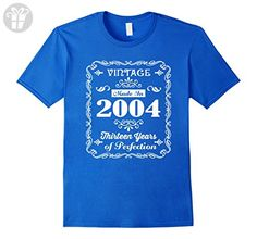 Mens Made In 2004 T-Shirt 13th Birthday Gift T Shirt Small Royal Blue - Birthday shirts (*Amazon Partner-Link)