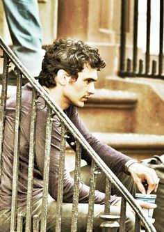 James Franco & his beautiful curly hair! (Sigh.)