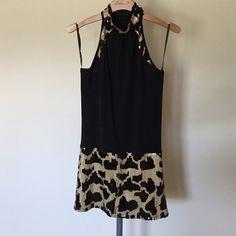 Black sequin dress/tunic, never worn Stunning black/ gold  tunic/dress Arden B Dresses